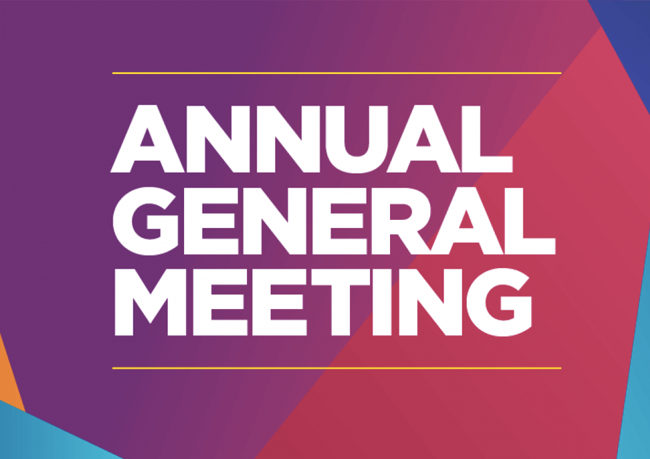 2018 AGM Announced for Monday 16th April